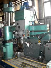 The radial-drilling machine 2A554F1, max. diameter