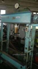 Hydraulic press of Construction Department 1671M