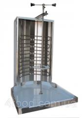 The device for preparation of shawarma the...