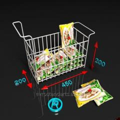 Basket for freezing chests of dumplings and freezing
