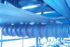 Cleaning device of conveyors roller