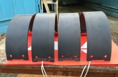 Sliding bearing polymeric