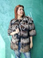 Short fur coat from the Finnish silver