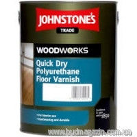 Varnish on a water basis of 2,5 l of Johnstones