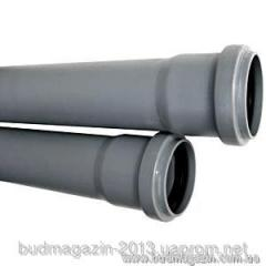 Pipe sewer with Valsir 50x1000 bell