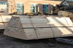Dry pine beam 150х150, board, timber from pine
