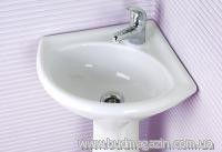 Wash basin angular Polesia 400 mm