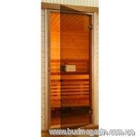 Door for Saunax Classic sauna bronze 190х70