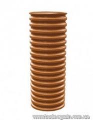 The pipe bearing corrugated 600 SN4