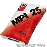 Limy and cement plaster 25 of kg Baumit MPI 25