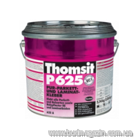Two-component polyurethane glue for a parquet of