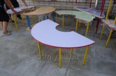 """Стол для детского сада """"Полукруг"""""""