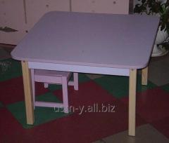 Little tables 'Square' for rooms of