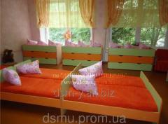 Mattresses wadded for hostels, tourist bases,