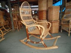 Rocking-chair from a rod Folding the 2nd code