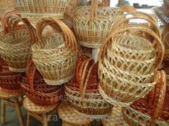 Пасхальные корзины плетеные из лозы. Корзина