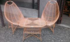 Плетеная мебель из лозы- Вiдпочинкове велике код