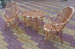 Плетеная мебель из лозы- Набор Вiдпочинкове с