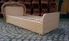 Кровать детская плетенная из лозы. код  72236284
