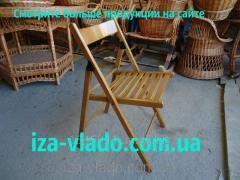Chair folding wooden code 124649938