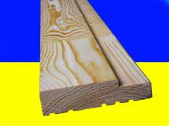 Wooden jambs from pine - Ukraine. Euro jambs