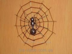 Souvenirs wattled of a rod the Spider a code