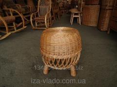 Padded stool No. 1 kitchen code 75883456, wattled