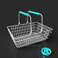 La cesta para las compras einkaufskorb