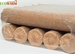Fuel briquettes from Nestro HARD oak in a thermo