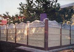 Забор декоративный для дома