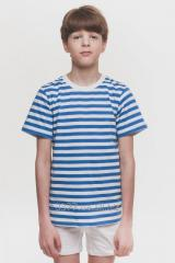 T-shirt for the boy a strip blue, a code: 3041