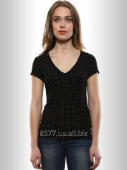 T-shirt female black mirage, code: 2046-2