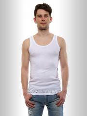 Undershirt man's belaya2, code: 1001-1