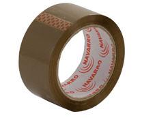Лента липкая упаковочная коричневая (48 мм x 100