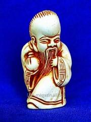 Dongfangshu's netsuke with a sack the article