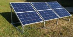 Solar batteries on 7,2 Kilowatts/hour