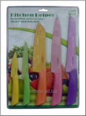 Набор керамических ножей на планшетке J-005 PS5 (48 наб. в ящике) К36640