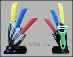 Набор керамических ножей 3+4+5+чистка  (16 наб. в ящике)