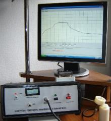 Measuring instrument of temperature of melting and
