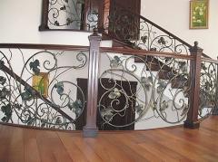 Лестницы кованые (Киев), кованые перила для