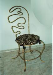 Стулья кованые (Киев), кованые столы и стулья,