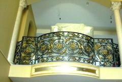 Balconies shod (Kiev), shod protections of