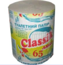 Туалетная бумага Classik Люкс 65