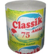Туалетная бумага Classik Люкс 75