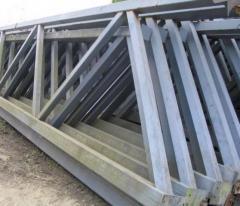 Металлоконструкции мостовые строительного
