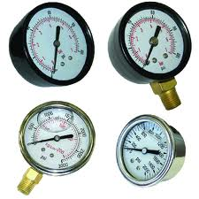 Manometers for hydraulic systems
