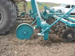 The units combined preseeding processing of the