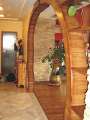 Arches wooden (Kiev), arches interroom wooden,