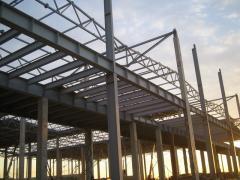 Цельные металлоконструкции весом до 25 тонн, балки
