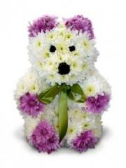Bouquets are romantic. Bear. Delivery across